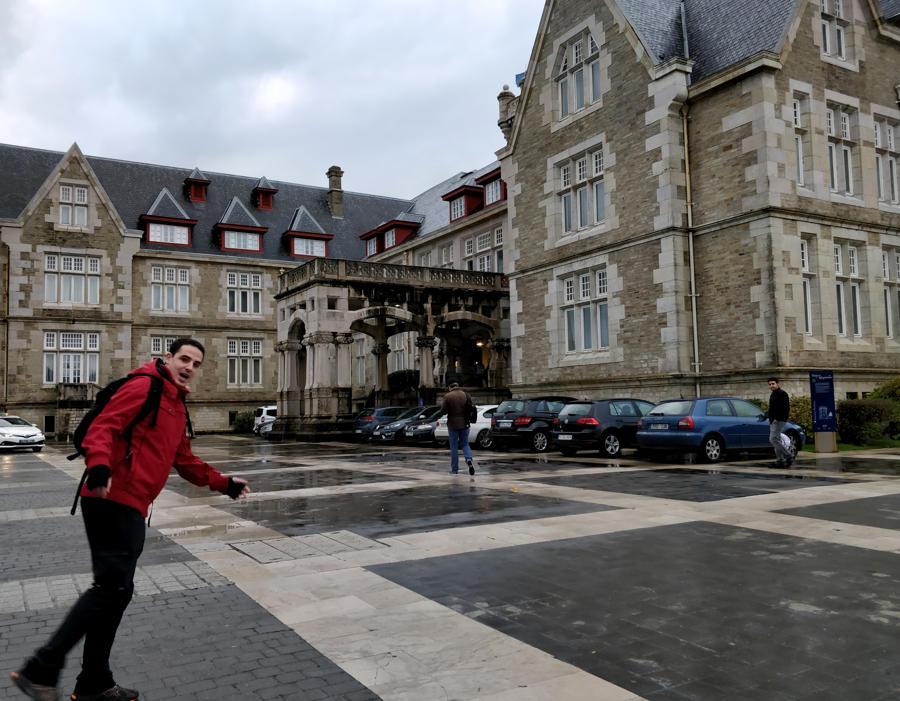 Ibón en el Palacio de La Magdalena