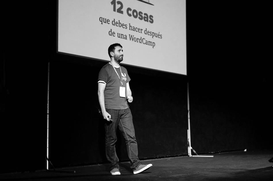 Juan Hernando en WordCamp Madrid 2019