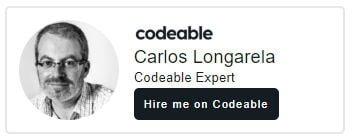 Codeable WordPress Expert Carlos Longarela